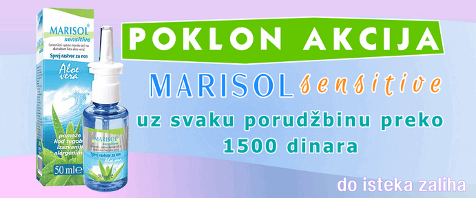 poklon akcija marisol sensitive